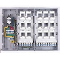 Sheet Molding Sintex Energy Meter Box Electronic Control Fiberglass With PC Cover Manufactures