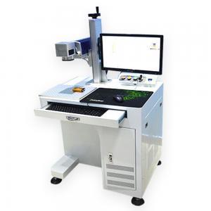 20w desktop Fiber Laser Marking Machine engraving machine for metal Manufactures