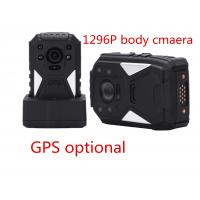 China Black Portable Body Worn Video Camera For Security , Small Hd Body Camera on sale