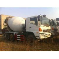 Used Concrete Mixer Truck Hino Brand Mixer Truck Manufactures
