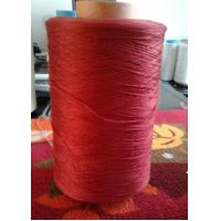 Dyed Red Untwist Polyester BCF Yarn Unply Manufactures