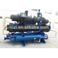 China Semi-Hermetic Screw Industrial Water Chiller With CE Approval on sale