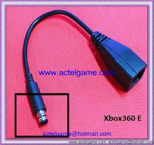 Xbox360 E power transfer cable Xbox360E game accesory Manufactures