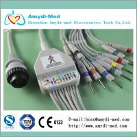 Quality KANZ PC-104 EKG cable ,10 leads, AHA/IEC standard for sale