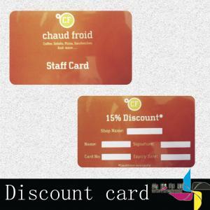 Laser Hot Stamp Foil Blank PVC Cards Round Corner Gold / Silver Backgroud Manufactures