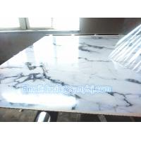PVC Marble Stone Surface Design Wall Panel/ Indoor Bathroom Kitchen Decorative Panel Production Line Manufactures