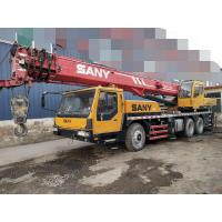 Sany 2012 Year Used Construction Machine Crane Truck 25 Ton Stable Chassis Performance for sale