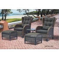 Quality Comfortable Outdoor Rattan Chairs Patio Furniture Sets For Two Person for sale