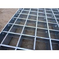 Painted Pressure Locked Grating Carbon Steel Long Working Lifespan Manufactures