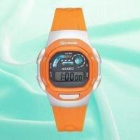 Plastic Watch with 5.5 Digital LCD Screen, Suitable for Gents, Available in Orange, Red and Black Manufactures