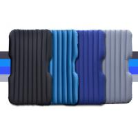 China Christmas Gift Inflatable Single Airbed Mattress Multifunctional Flocked Backseat Air Bed for Car truck on sale