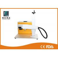Multi Language 100W Metal Laser Engraving Machine For Plastic / Ceramic Manufactures