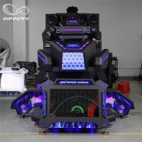 1 Person 9D VR Simulator Terninator Racing Car Virtual Arcade Games Machines Manufactures