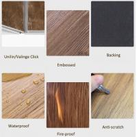 Residential / Commercial Vinyl Floor Tiles Fire Proof Anti - Scratch Manufactures