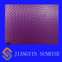 Home Textile Synthetic Leather Fabric , Waterproof 600d Mylar Oxford Cotton Fabric Manufactures