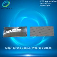 Fresnel mirror lenses,PMMA Plastic Fresnel Minifier Lens,Wide-angle mirror reflection,ATM wide angle lens 85X55mm Manufactures