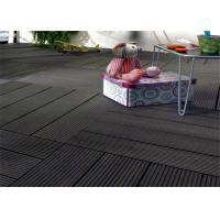 Wood  Plastic Composite Easy install Home-decorating DIY Decking Tiles Manufactures