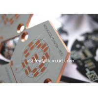 LED Lighting Copper Based PCB with Counter Bore Mounting Hole Manufactures