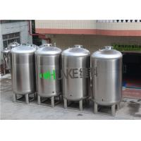 Quality SS304/SS316L 5 Cubic Sterile Water Storage Tank For Widely Used Health Level Liquid Thickness 2-5mm for sale