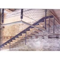 Staircase Protection Stainless Steel Wire Rope Fence Mesh With Strong Toughness Manufactures