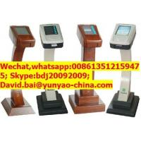 China press buttons queue ticket dispenser on sale
