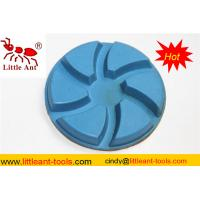 China Six Teeth Diamond Floor Polishing Pad for Concrete , Granite and Marble on sale
