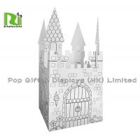 China Cardboard Ink Printing DIY Corrugated Cardboard Toys With Special Shape on sale