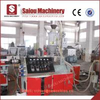 pp pe single wall corrugated threading pipe production line pipe making machinery Manufactures