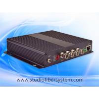 4Port 3G/HD SDI&Ethernet&Audio&PTZ data extending over single mode fiber to 80KM for CCTV or broadcast system Manufactures