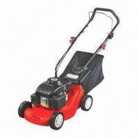 Quality 118cc Gasoline Lawn Mower with 400mm Cutting Width, 5 Positions and 2.8kW Maximum Power for sale