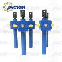 worm gear elevator With Handle for steel plant lifting elevators for steel plant Manufactures