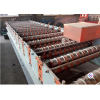 China Customized Metal Roof Roll Forming Machine , Color Coated Surface Roof Forming Machine on sale