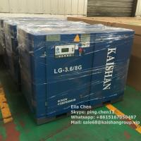 Industrial KAISHAN 30HP 8Bar Direct Driven Screw Air Compressor Air Cooling Manufactures