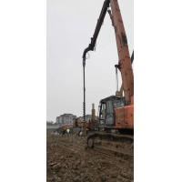 High Efficiency Sheet Pile Driving Equipment Low Vibration Short Working Period Manufactures
