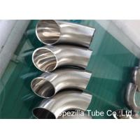 Buy cheap Hygienic Valves And Fittings 1/2'' - 12'' , TP304 316L Stainless Steel Sanitary Weld Fittings from wholesalers