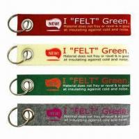 Remove Before Flight Small Felt/Nonwoven Keychains Manufactures