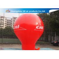 Pormotion Activity Red Inflatable Montgolfier Hot Air Floor Balloon Manufactures