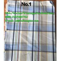 China Yarn Dyed check design shirts of pants or boxers fabric cotton spandex high quality on sale