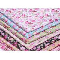 China 133 X 72 Patterned Polyester Twill Fabric With ECO - Freindly Material on sale