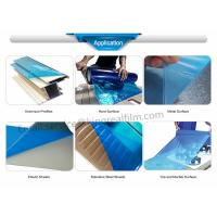 PE Blue Self Adhesive Protective Film(For Mable surface, plastic sheet,metal surface,Aluminum profiles,Hard surface) Manufactures