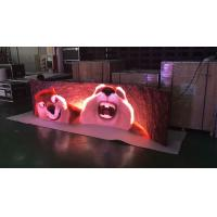 Indoor Full Color 3.9 Rental Curved Led Display Stage Led Screen With 140º Viewing Angle Manufactures