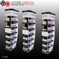 Custom good quality four sides display stand for bottle goods Manufactures