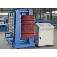 2.2Kw Hydraulic Power Roof Panel Roll Forming Machine PLC Driving System Manufactures