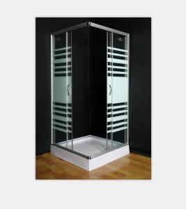 Square / Arc Shower Door Enclosures , ABS Tray Bathroom Shower Enclosures Manufactures