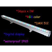 1000mm Length 36pcs 3w Rgb Outdoor led wall washer ip65 / Stage Light Decor Manufactures
