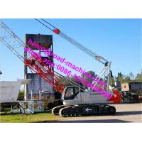 Hydraulic Crawler Crane QUY150 (150T) With Length Of Main Boom 19-73m for sale
