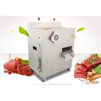 Multi Function Commercial Meat Grinder , Electric Meat Slicer Machine Manufactures