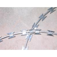 Cbt- 65 Razor Barbed Wire Hot Dipped Galvanized Stainless Steel High Security Manufactures