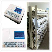 3 Channel , Manual / Auto / Analysis / Storage ECG Monitoring System With Advanced [ Freeze ] Function Manufactures