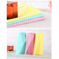 Non Toxic Smooth Healthy Disposable Cleaning Cloth Super Absorb Water Manufactures